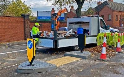 A new Pedestrian Refuge for Nottingham