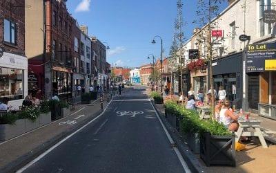 Narrow Cycle Lane Defenders deployed in Dublin
