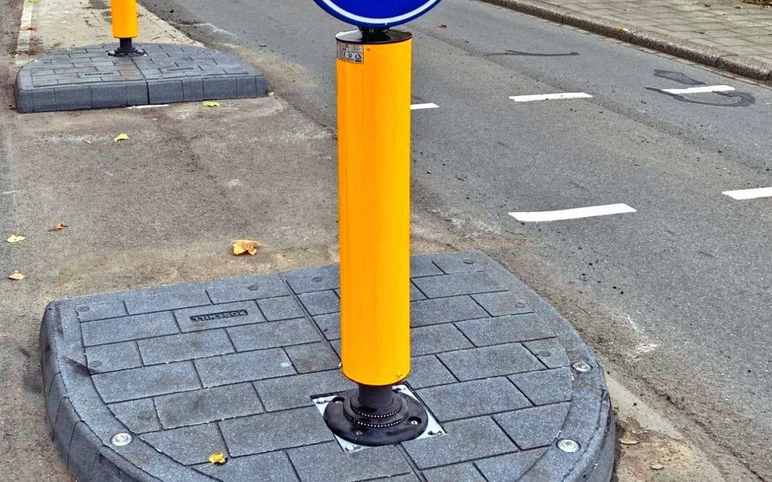 Dordrecht Traffic Islands Upgraded
