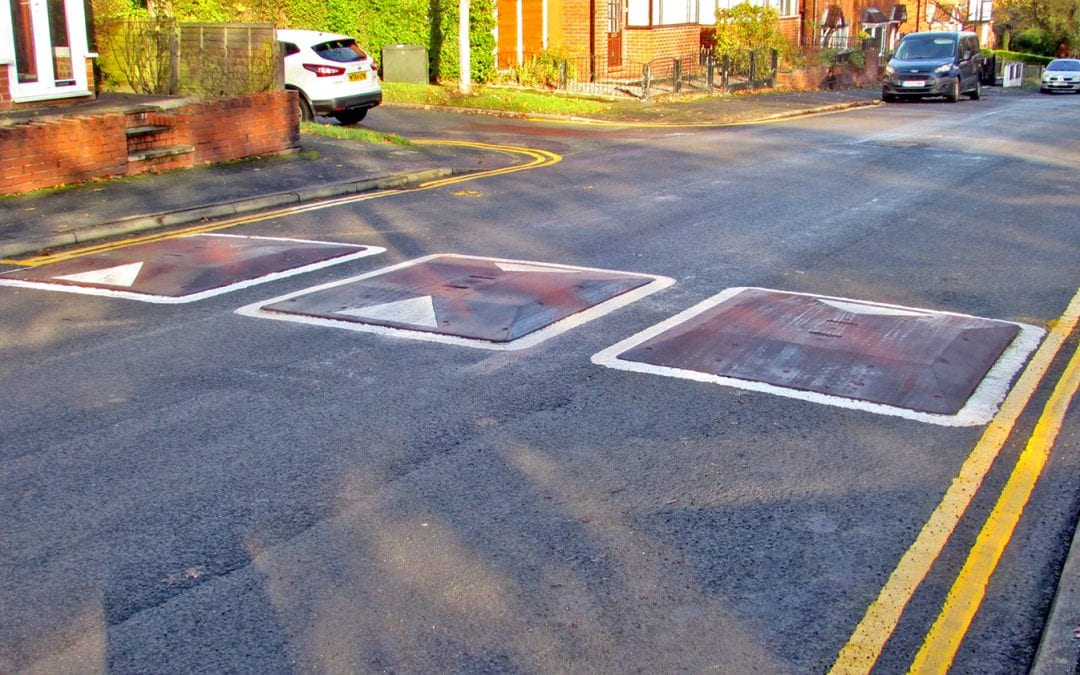 One-Piece Speed Cushions in Oldham