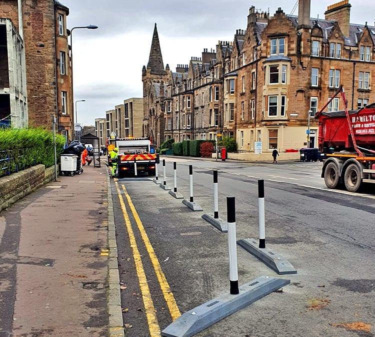 Social Distancing in Edinburgh